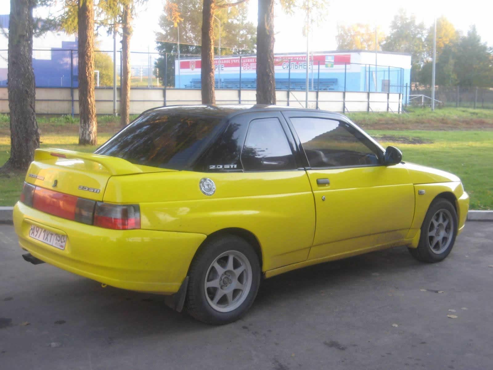 ВАЗ-21106 Купе - Желтая