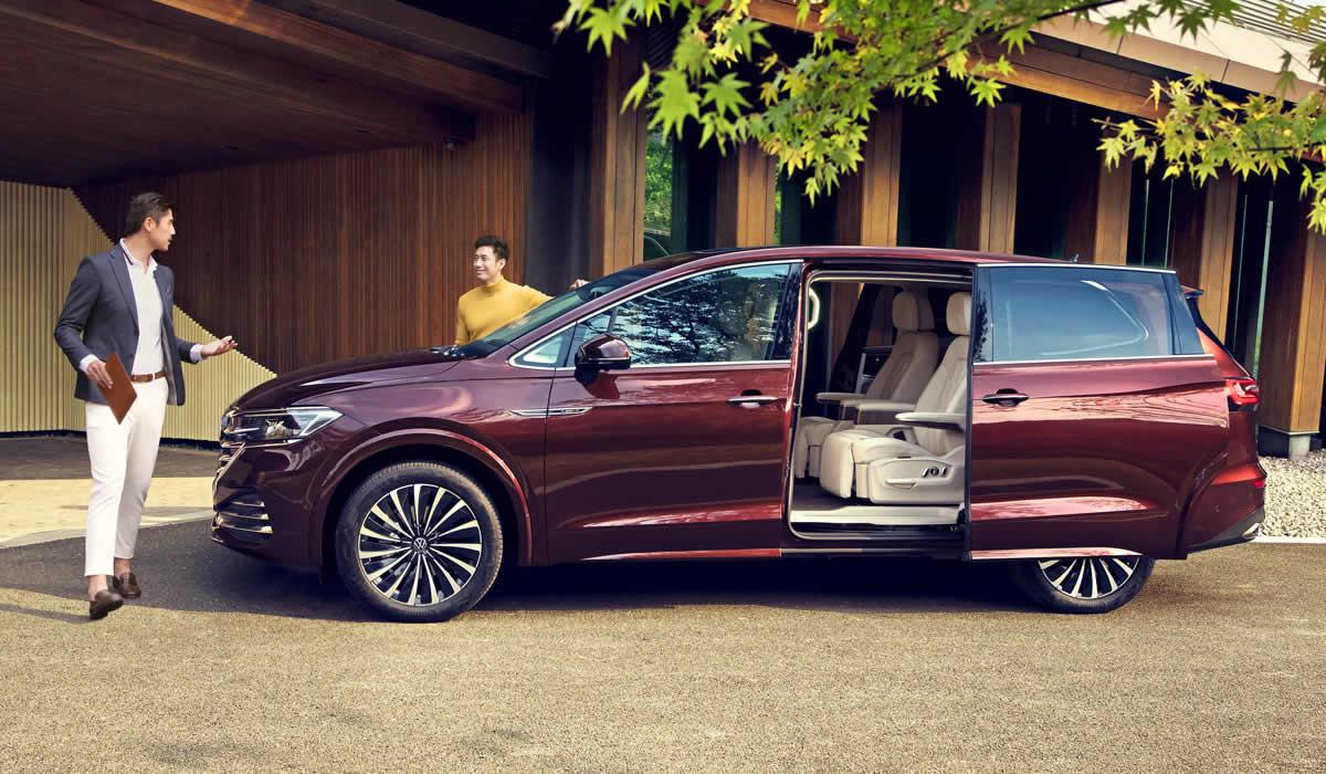 VW Viloran - Вид сбоку