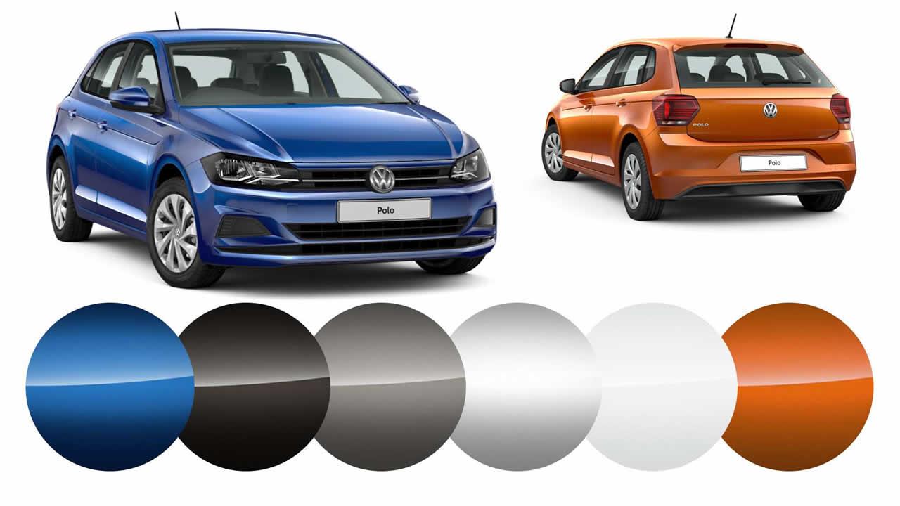 Volkswagen Polo - Цветовая гамма