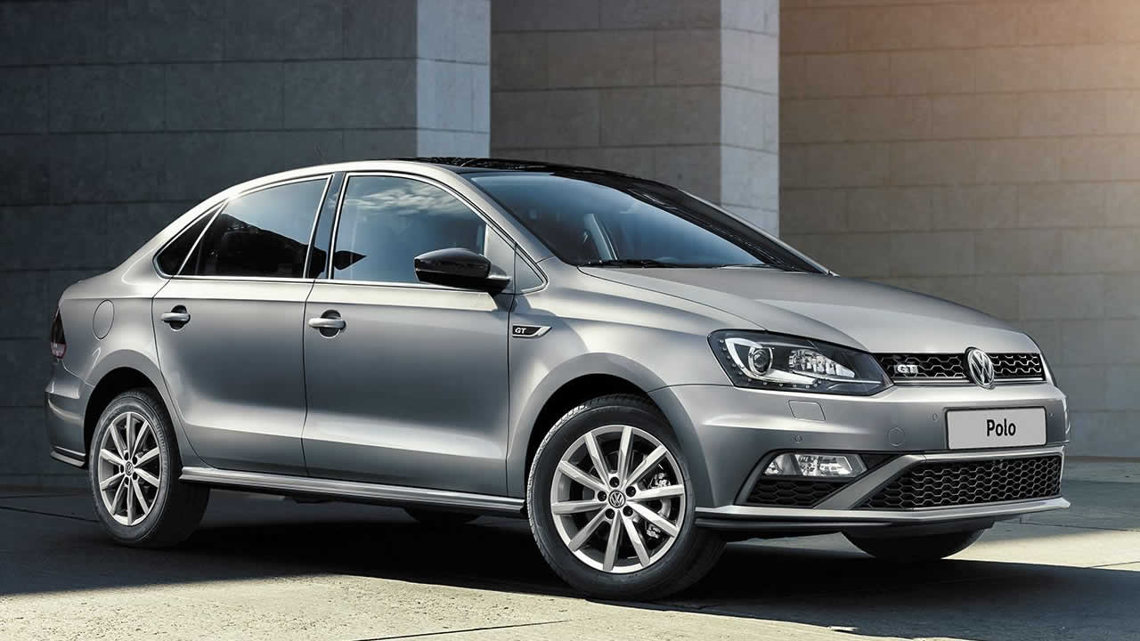 Volkswagen Polo - Седан - Вид сбоку