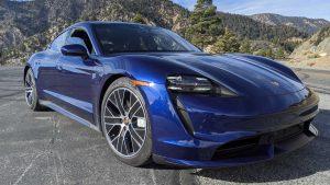 Краш-тест Porsche Taycan: фото, видео, результаты