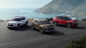 Новый Chevrolet Trailblazer 2021