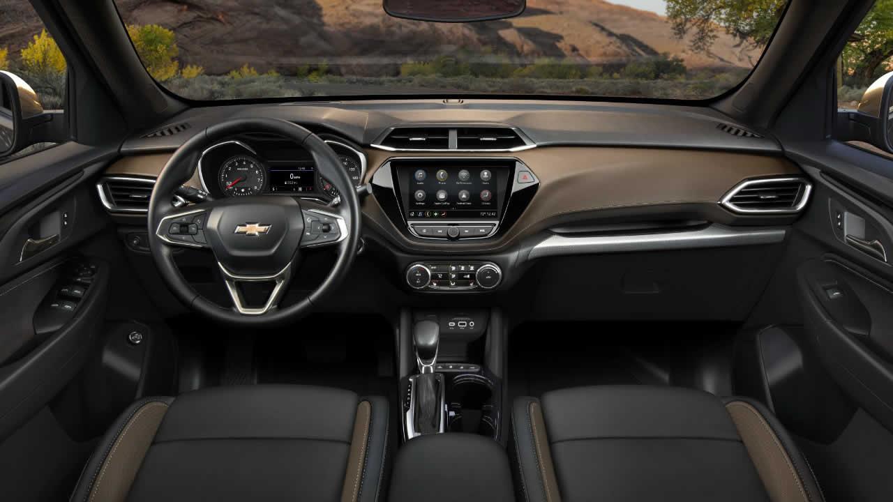 Chevrolet Trailblazer 2021 - Интерьер - Передняя консоль