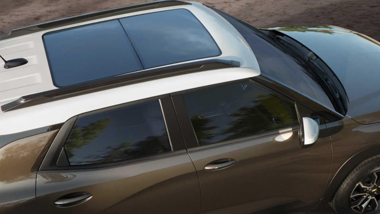 Chevrolet Trailblazer 2021 - Экстерьер - Панорамная крыша