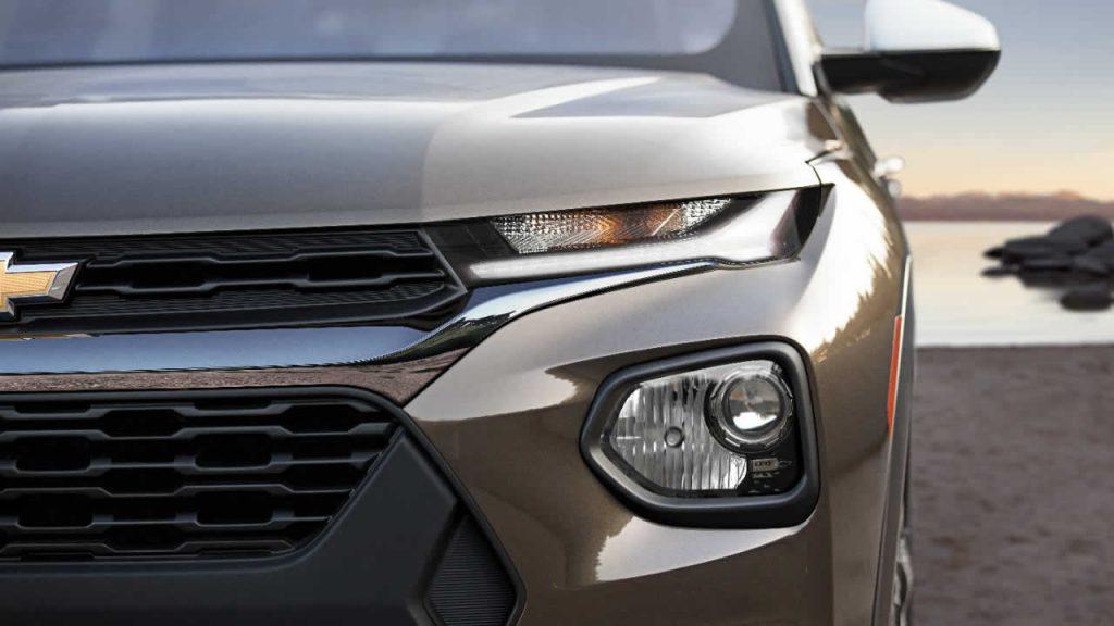Chevrolet Trailblazer 2021 - Вид спереди - Фонари