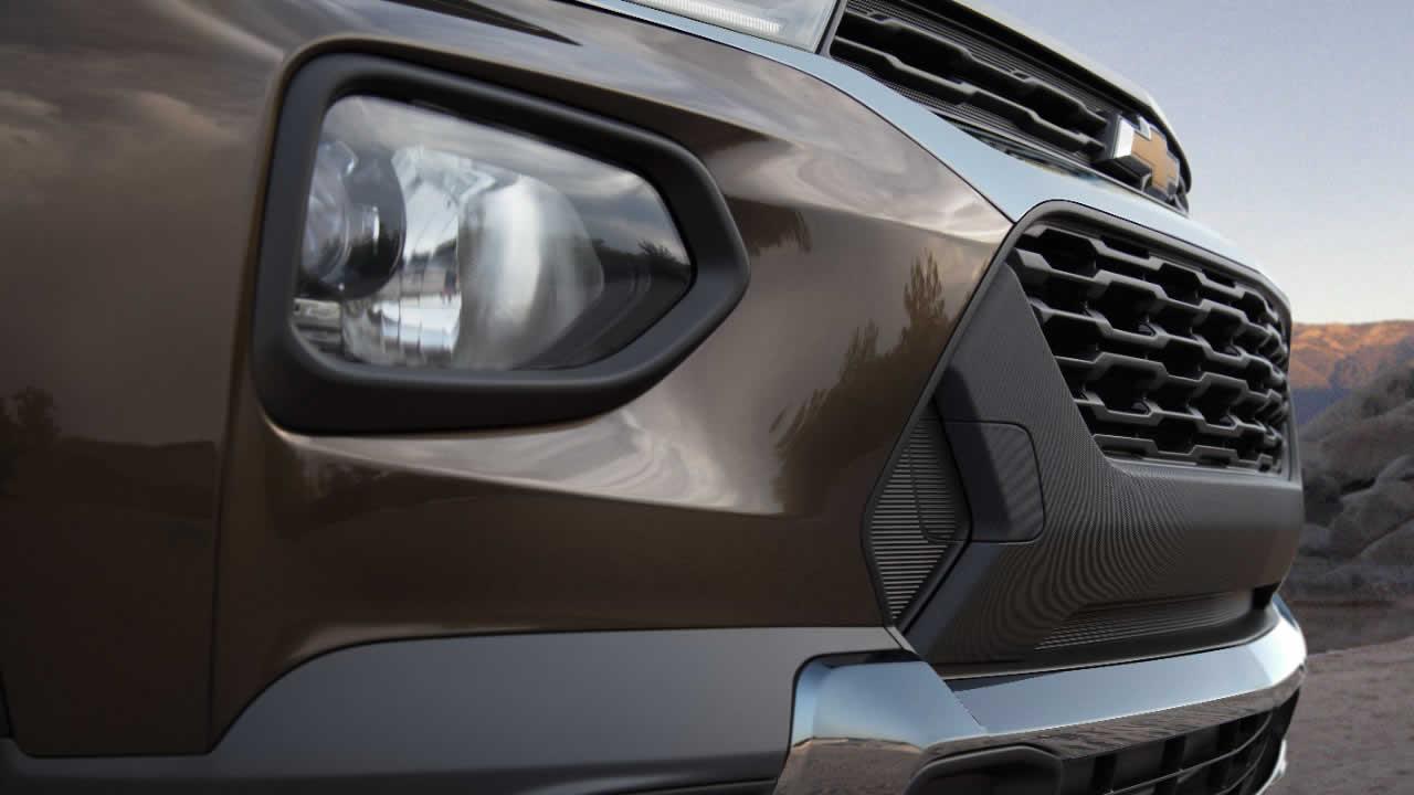 Chevrolet Trailblazer 2021 - Вид спереди - Противотуманные фары