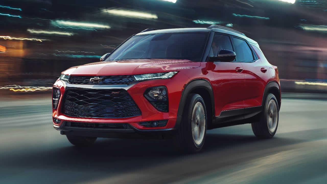 Chevrolet Trailblazer 2021 - Общий вид
