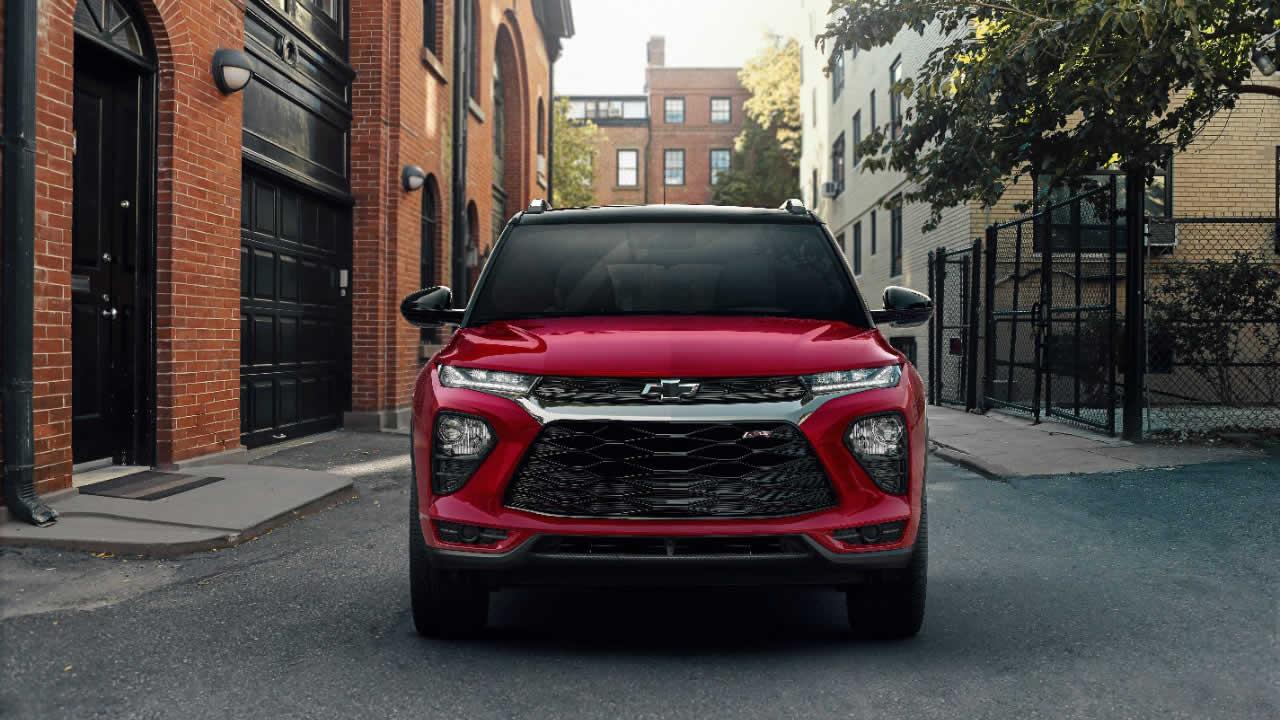Chevrolet Trailblazer 2021 - Вид спереди