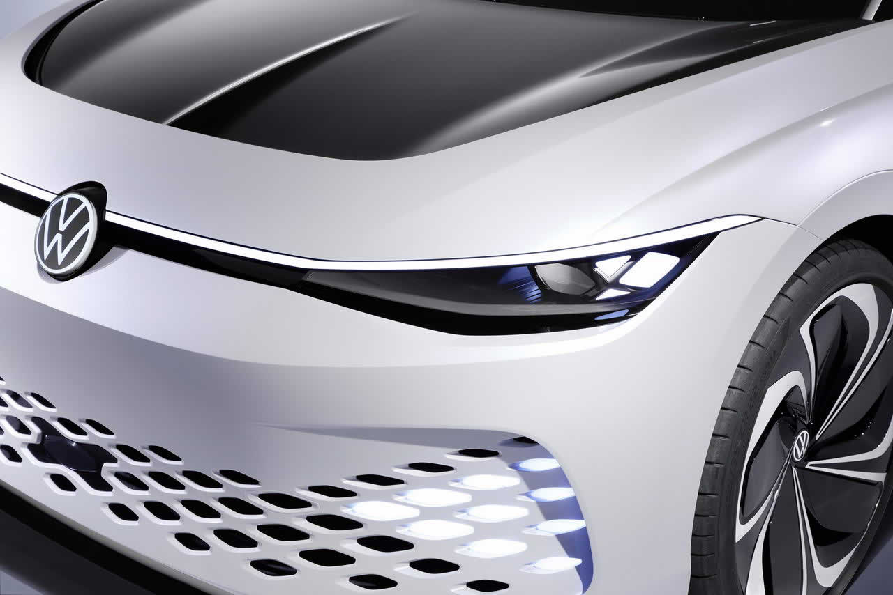VW ID. SPACE VIZZION - Передняя оптика