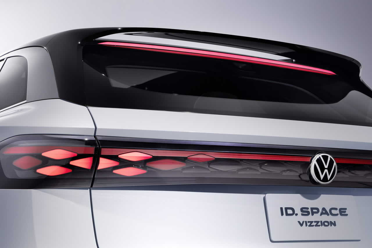 VW ID. SPACE VIZZION - Задняя оптика