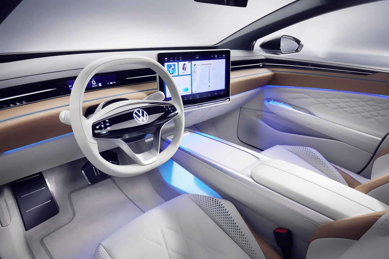 VW ID. SPACE VIZZION - Салон - Приборная панель