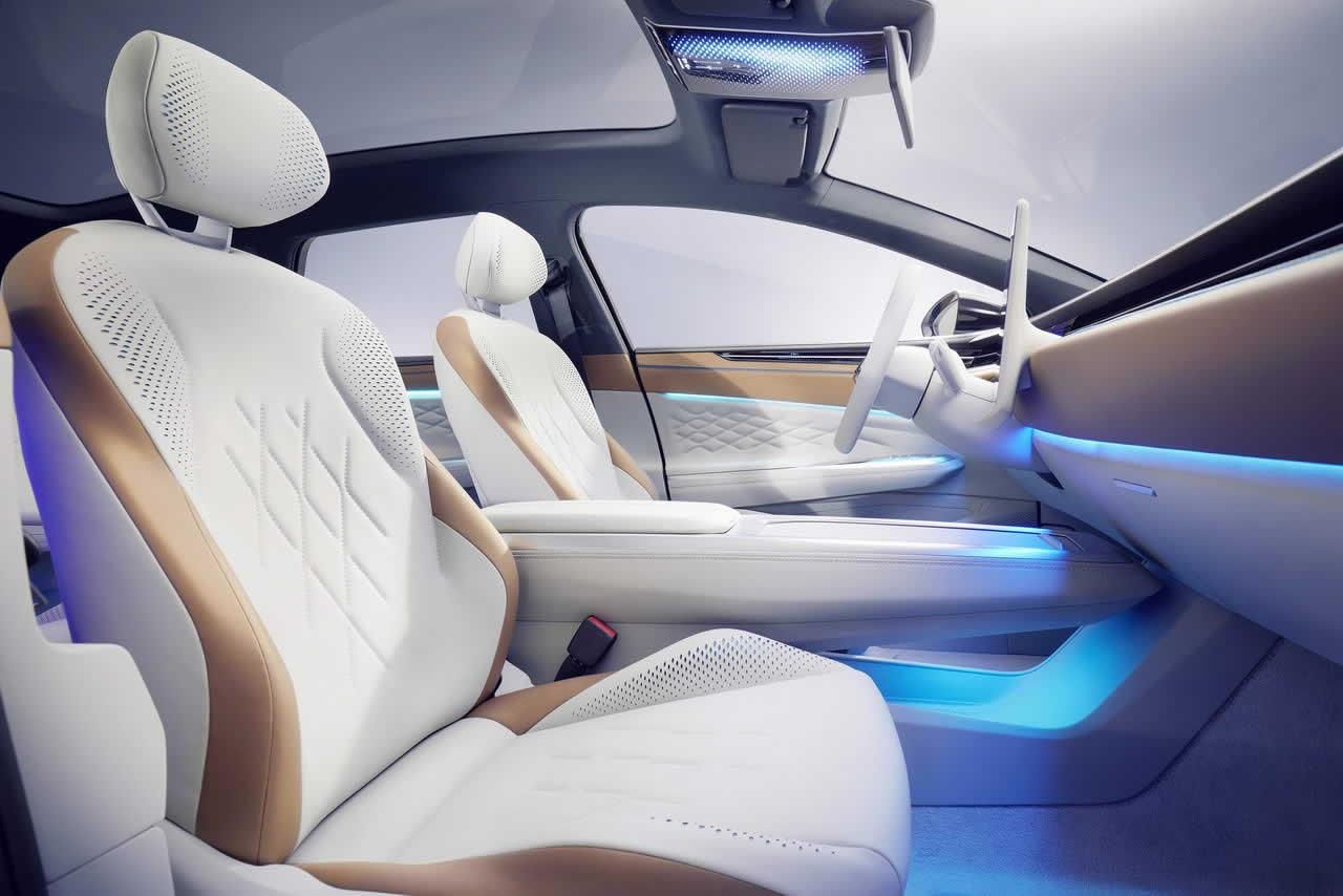 VW ID. SPACE VIZZION - Салон - Передние сиденья