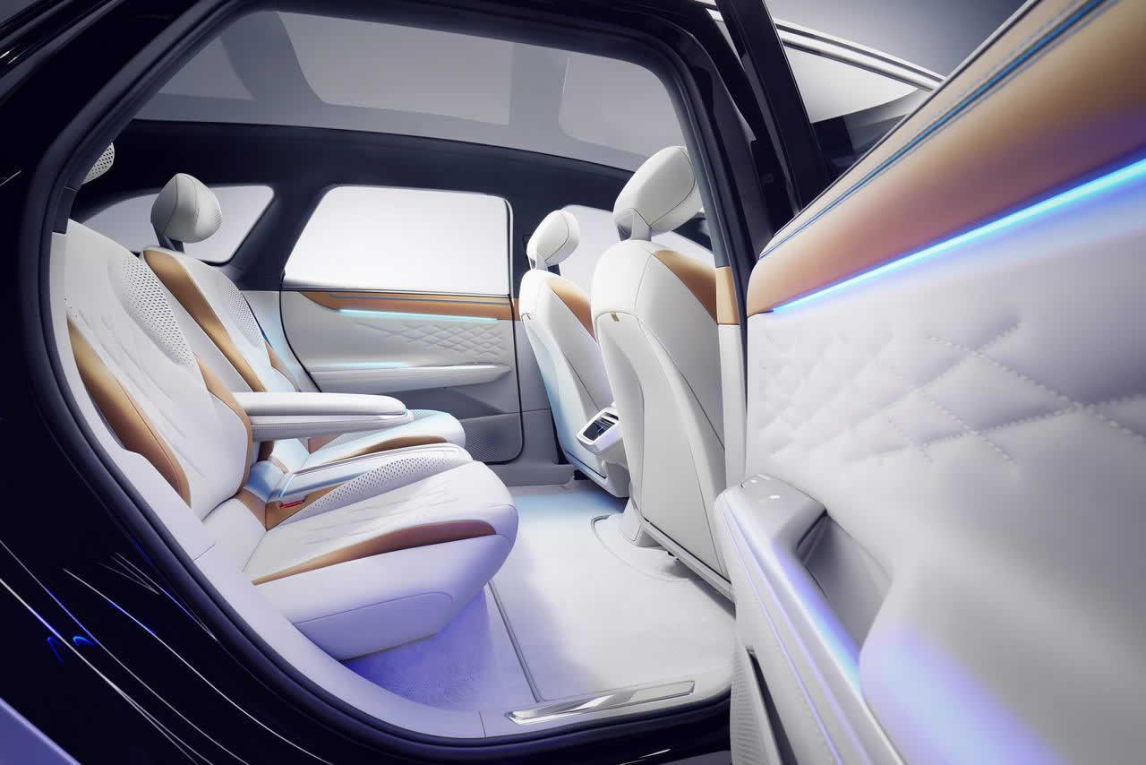 VW ID. SPACE VIZZION - Салон - Задние сиденья