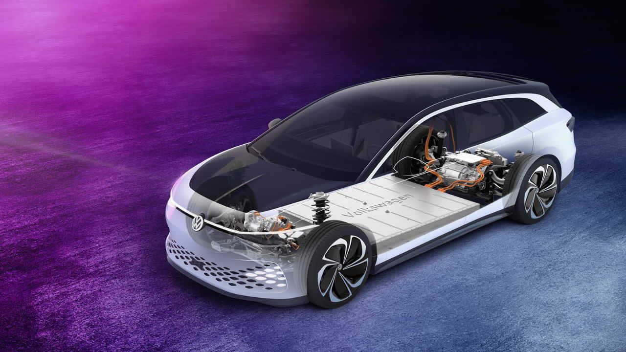 VW ID. SPACE VIZZION - Устройство автомобиля