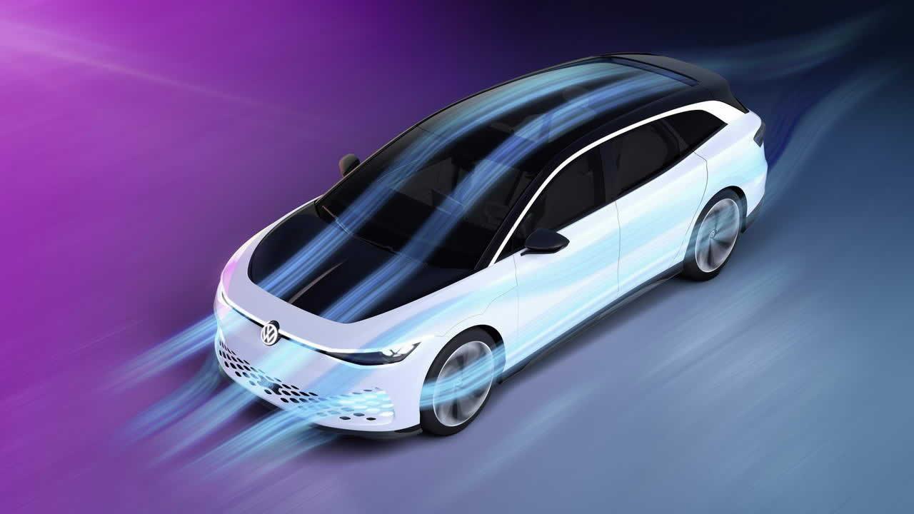 VW ID. SPACE VIZZION - Аэродинамика