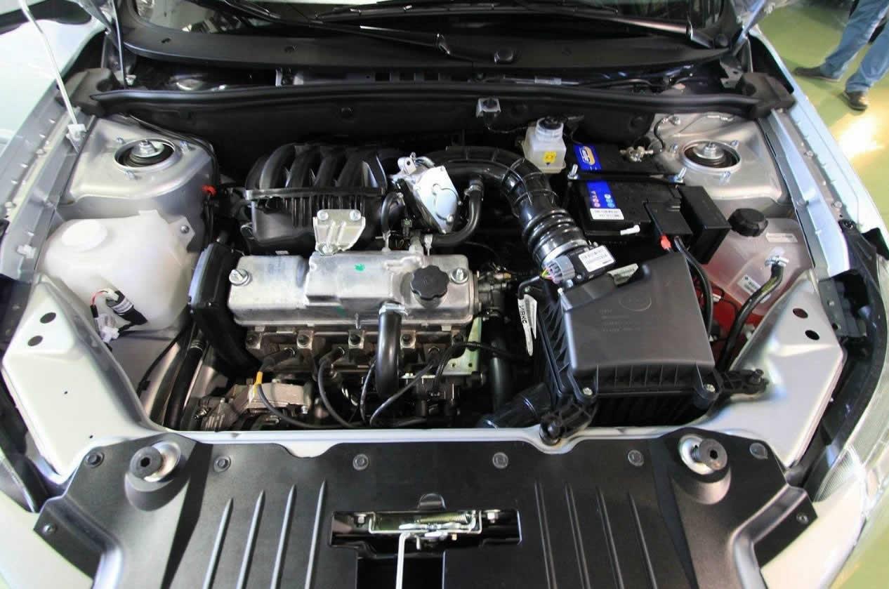Datsun On-Do - Под капотом