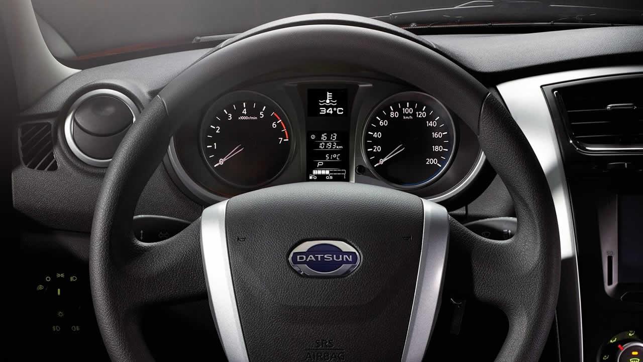 Datsun On-Do - Интерьер - Приборная панель
