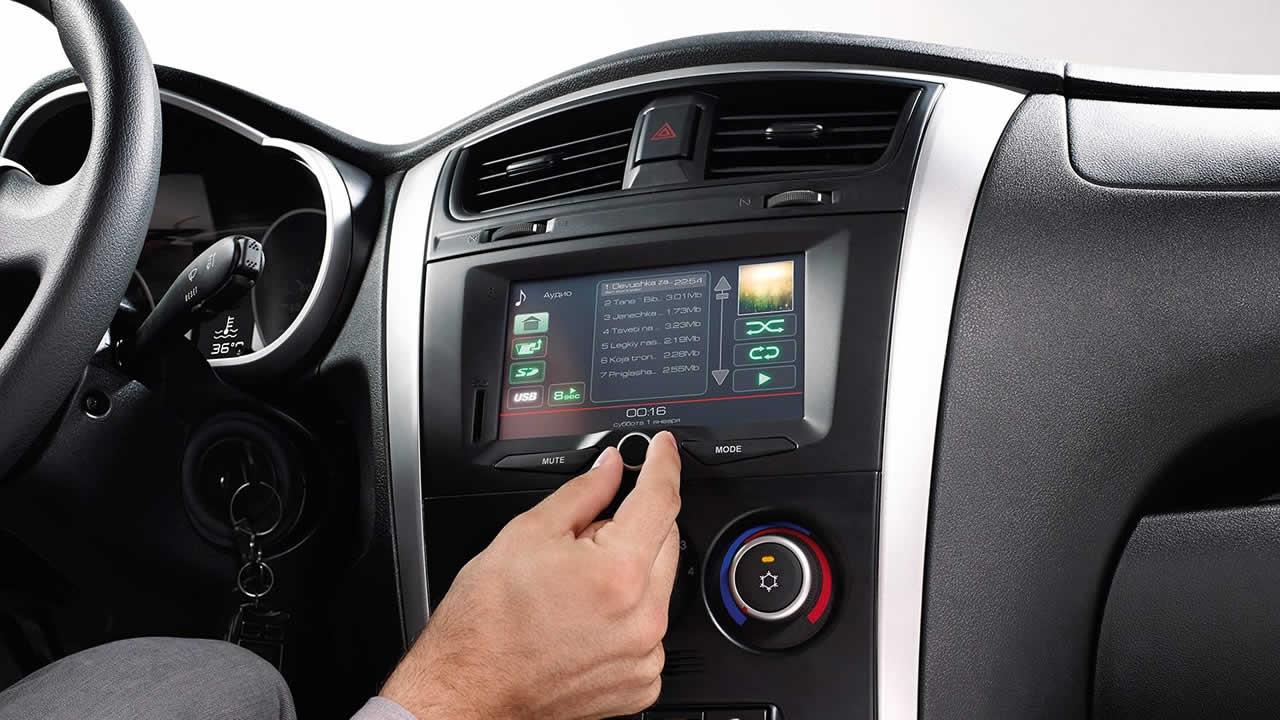 Datsun On-Do - Интерьер - Мультимедийная система