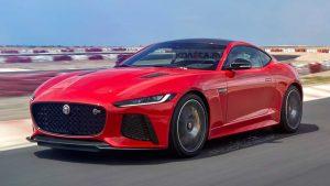 Jaguar F-Type 2020 - Красный