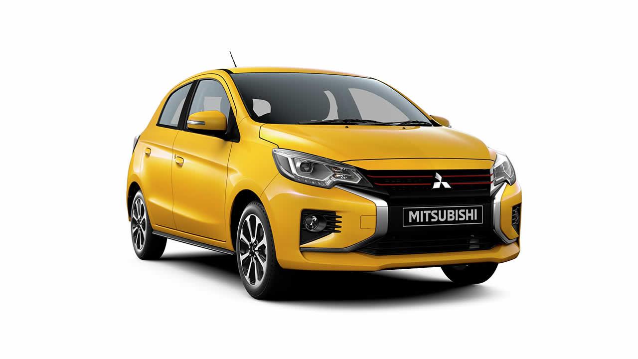 Mitsubishi Mirage - Общий вид спереди